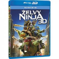 BluRay 3D Želvy Ninja 2BD (3D+2D)