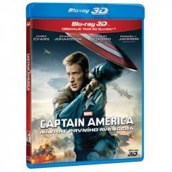 BluRay 3D Captain America Návrat prvého Avengera BD (3D+2D)