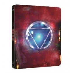 BluRay3D Iron Man 3. - 2BD (3D+2D) - steelbook