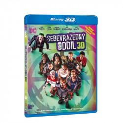 BluRay 3D Sebevražedný oddíl - 3BD (3D+2D+2D)