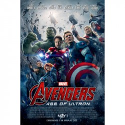 BluRay 3D Avengers:Age of Ultron - 2BD(3D+2D)