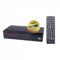 ZIRCON Fire H265 prijímač DVB-T2