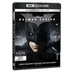 4K HDR Batman začína 3BD (4K BD+ BD+bonus) film