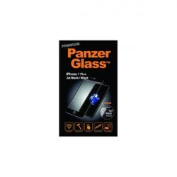 PanzerGlass iPhone 8/7/6S/6 Plus sklo ochranné čierna, PREMIUM
