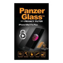 PanzerGlass iPhone 8/7/6S/6 Plus Privacy sklo ochranné číra