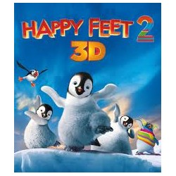 BluRay 3D Happy Feet 2 BD 3D+2D