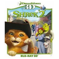 BluRay 3D Shrek 2 BD 3D
