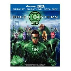 BluRay 3d Green Lantern - 2BD 3D+2D
