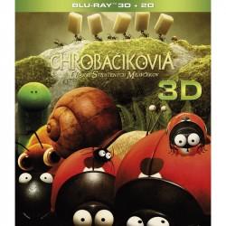 BluRay 3D Chrobáčikovia: Údolie stratených mravčekov (3D+2D)