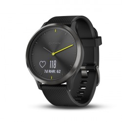 GARMIN Vívomove HR Sport náramok fitness Black, L