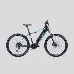 CTM RUBY XPERT 275 16´´ matná čierna/žltá 2019 horský elektrobicykel