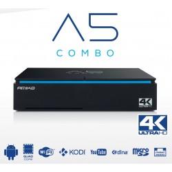 AMIKO A5 COMBO SAT DVB-S2 Android 5.1 prijímač satelitný