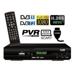 DI-WAY T2-One H265 prijímač DVB-T