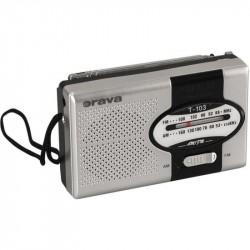 ORAVA T-103 rádio vreckové FM