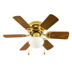 ventilátor Stropný CF 760 L,76 cm, 50 W, zlatá farba