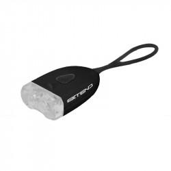 EXTEND SEPIA USB osvetlenie čierne
