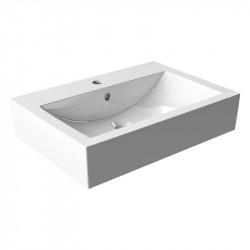 VILAN MATI 60 umývadlo na dosku/skrinku keramické biele