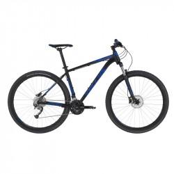 KELLYS SPIDER 50 Black Blue M 2020 27,5´´ horský bicykel