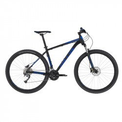 KELLYS SPIDER 50 Black Blue L 2020 29´´ horský bicykel