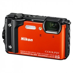 NIKON COOLPIX W300 Holiday kit oranžový VQA071K001