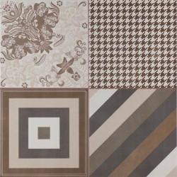 PERONDA FS MELANGE-T 45 x 45 cm dlažba mozaika predrezená matná hnedá
