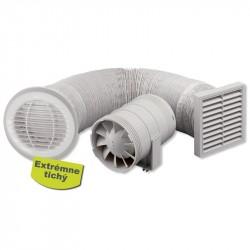 ZEHNDER Silent T kúpeľňový ventilátor sprchový set, s časovačom ZSR100TSK
