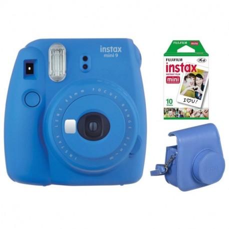 FUJIFILM INSTAX MINI 9 film10ks+púzdro - SET COBALT BLUE 70100141221