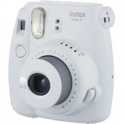 INSTAX MINI 9 SMOKY WHITE + LED BUNDLE 2019