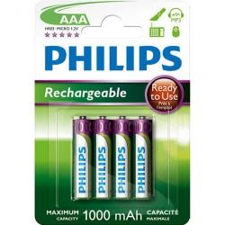 PHILIPS R03/4BL 1000 MAH batéria nab.