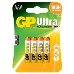 GP 24AU-U4 R03 AAA alk. /B4 ULTRA
