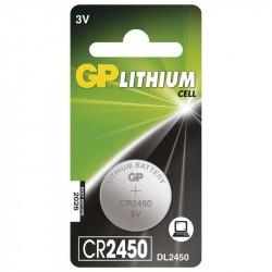 GP CR2450 batéria líthium blister