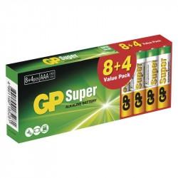 GP-24A R03 AAA alk. /AKCIA GP Super 8+4PB
