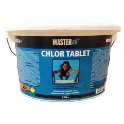 MASTERsil chémia do bazénov CHLÓR tablet 5kg