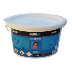 MASTERsil chémia do bazénov chlór šok 5kg vedro