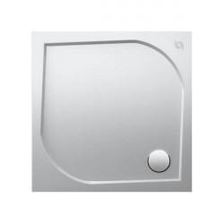SANITY SWISS vanička sprchová 4-uhol. 80 x 80 x 3 cm biela ST80SL2TRIEDA